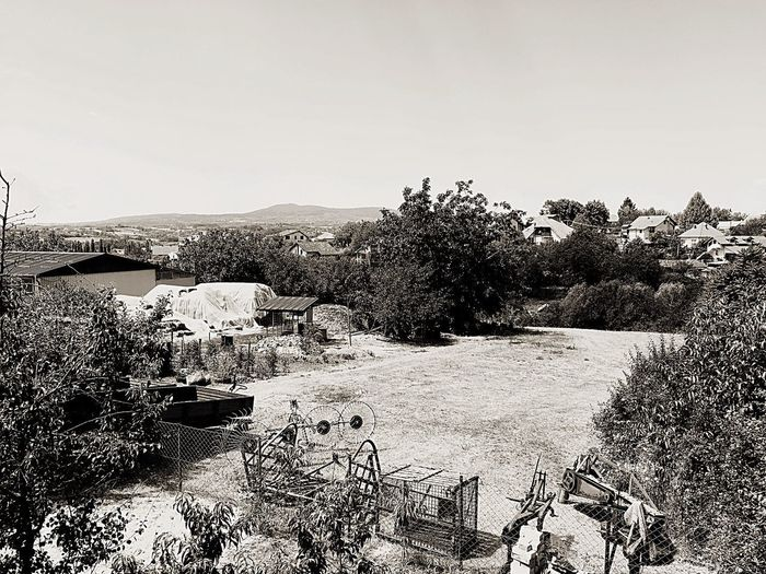 Black And White Friday Village Life Village View No People Outdoors Landscape Scenics Day Grass Fields Summer Looking At View EyeEmNewHere Village Lifestyle Villagehouses