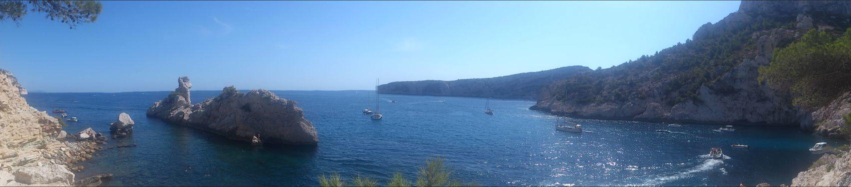 calanque de Sugiton Calanques  Sugiton Marseille Water_collection