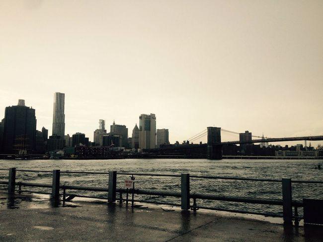 Brooklyn View After The Storm Manhattan Skyline Brooklyn Bridge / New York Brooklynbridge