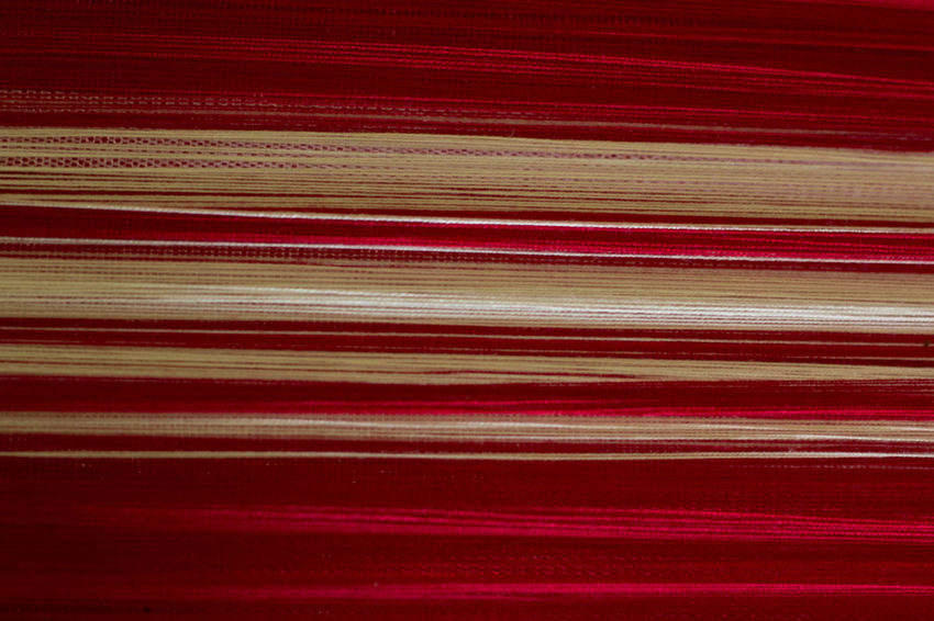 Close-up Everything In Its Place Fabric Full Frame Part Of Red And White Stripes Red Cloth Still Life Wale Weave Woven