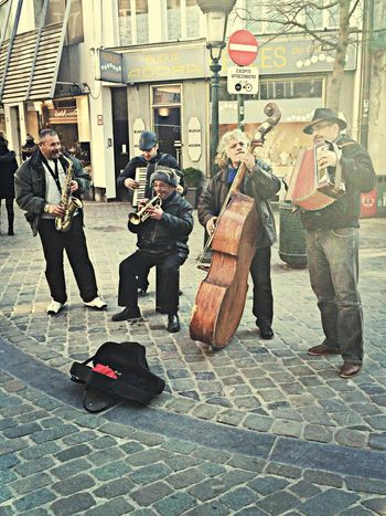 Street Music Brussels Band