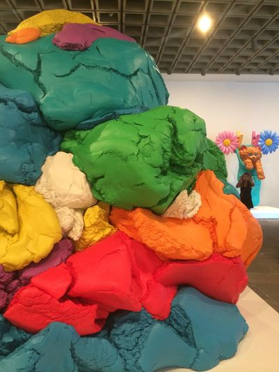 Meow Jeff Koons At Whitney Museum Of American Art Playdoh celebrations