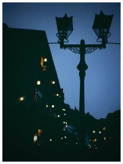 そーいえばここデートしたなぁ 銀山温泉 Streetlight Streetlights Romantic Nostalgic  Feeling Nostalgic Nostalgic