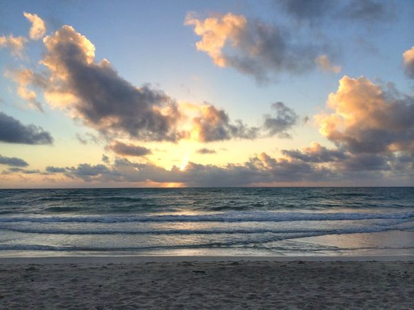 Sunrise Clouds Beach Your Art Is Portable With Caseable