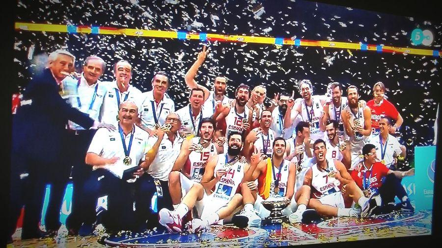 Campeonesde Europa Selección Española De Baloncesto