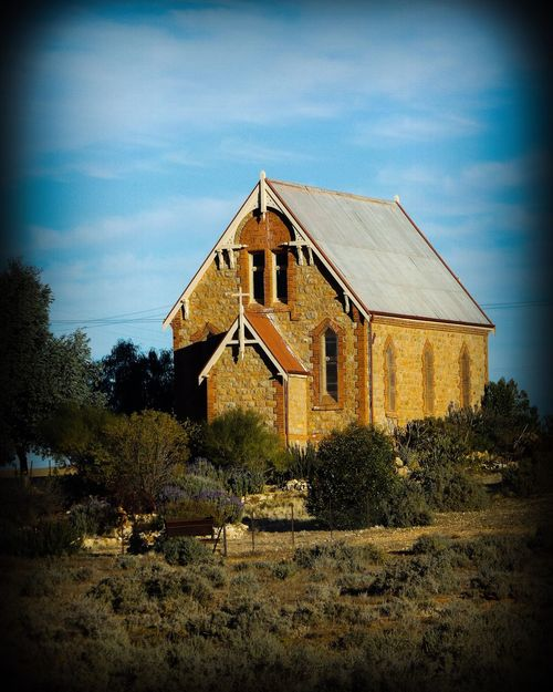 Church Broken Hill Outdoors Peaceful Old Sky Architecture Holy