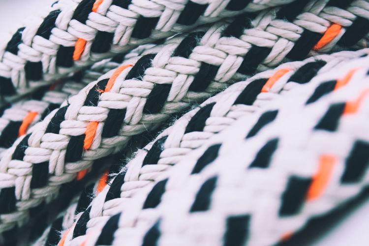 Full frame shot of a rope