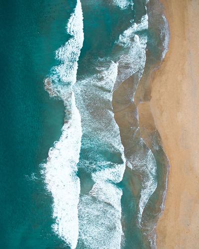 Close-up of sea shore