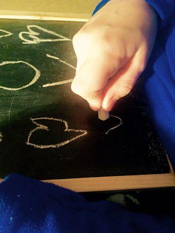 Child Drawing Childsplay Message Chalk Art Chalk Blackboard  Chalkboard Getting Creative Abstract Simple Innocence Beautiful
