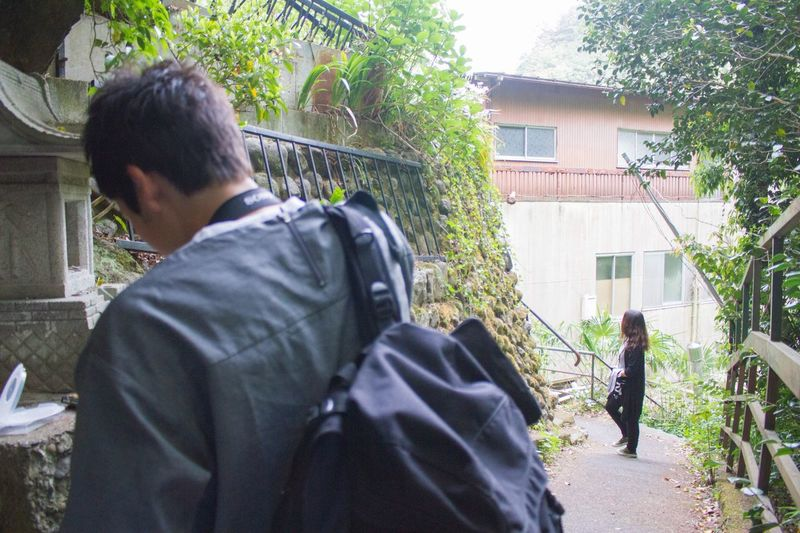Building Exterior Rear View Built Structure House Architecture Outdoors Men Day Real People Tree Adult People One Person Working Young Adult Adults Only Only Men Green Color EyeEm Nature Lover OpenEdit Tokyo,Japan EyeEm Best Shots Beauty In Nature Canon7d  Nature Photography