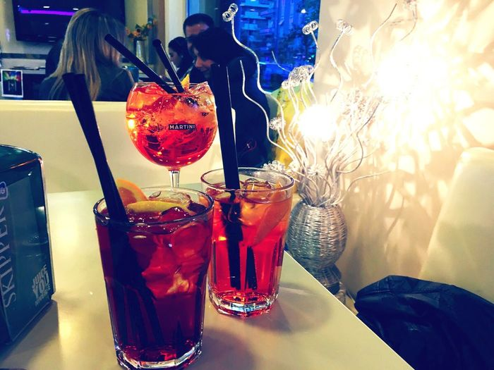 A beautiful drink 🍸