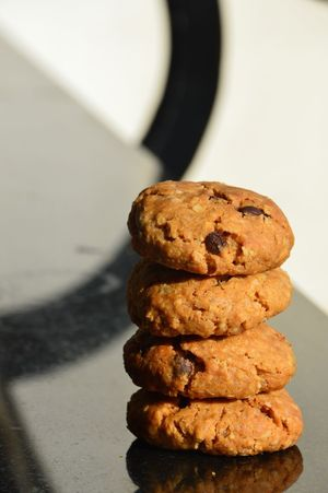 My World Of Food These are oats chocolate chip cookies from India . In Pune made by Gourmet To Go Restaurant