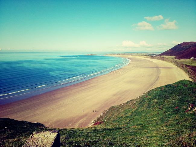 Coastal Coastal Landscape Coastal Path Coastline Coastline National Trust Rhossili Rhossili Bay Wales Wales UK Walesonline Gower Coastline Landscape Gowerpeninsula Gower Peninsular South Wales Gowercoast Swansea Cliff Path Travel Destinations Swansea Bay Cliff Photography Beauty In Nature Cliffpath EyeEm Best Shots - Landscape EyeEm Best Shots
