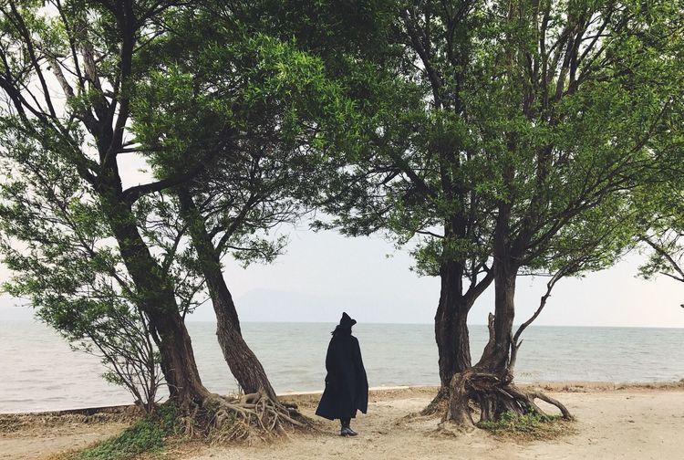 PhonePhotography Dali Yunnan Sea Trees Back Walking