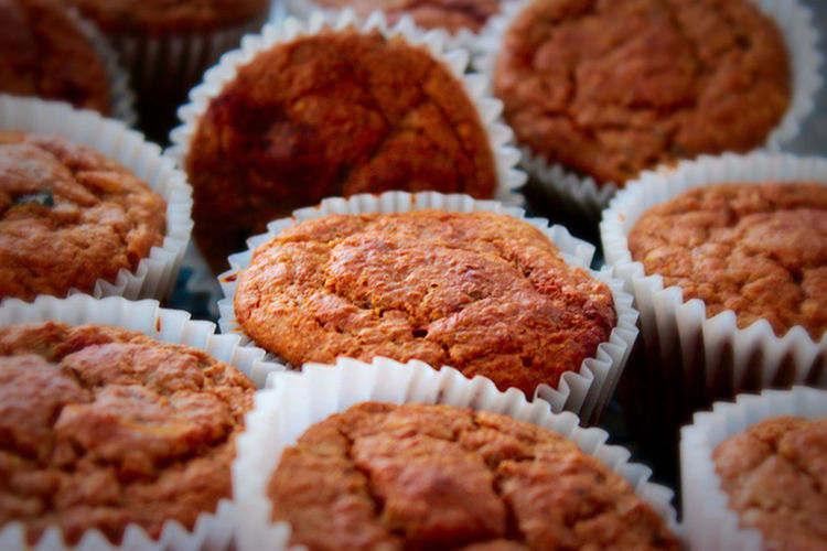 Close-Up Of Muffins