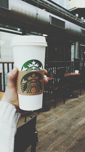 hello there starbucks coffee. feel a little bit nostalgic holding you in my hand Starbucks Coffee Nostalgia