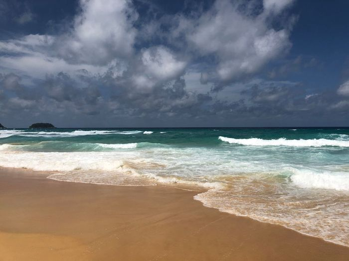 Андаманских море Таиланд Андаманское море Sea Beach Land Water Sky Cloud - Sky Beauty In Nature Nature Horizon Over Water Wave Horizon