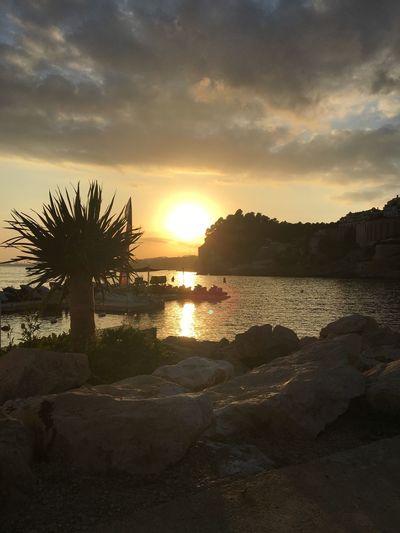 altea sunset spain Cloud - Sky Sun Tranquility No People Water EyeEm Gallery I Phone 6s EyeEm Best Shots
