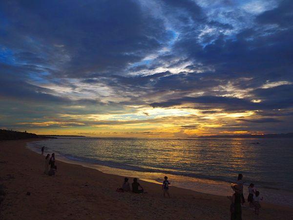 Ishigaki  Beach Sunset Sea Sand Nature Shore Sky