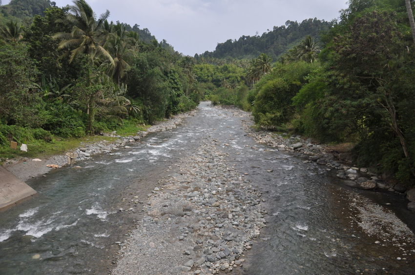Remote river in Maitum Sarangani Province, Philippines. Composition Exploring Narrow Nature Non-urban Scene Outdoors Perspective Remote Scenics Tranquil Scene Vacations Water