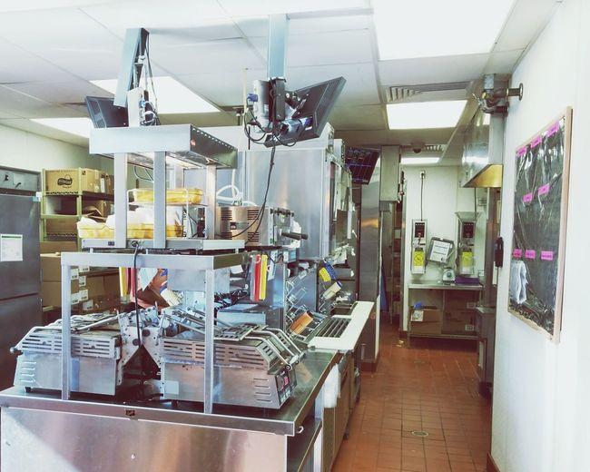 Fast Food Fastfood Restaurant Kitchen Prep Lines