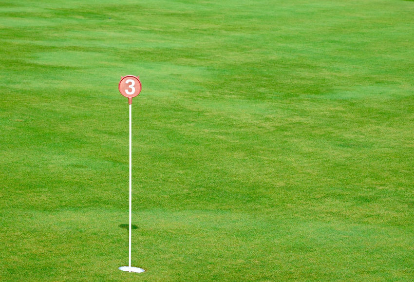 Day Flag Golf Golf Club Golf Course Golf Flag Grass Green - Golf Course Green Color Nature No People Outdoors Playing Field Putting Green Sport