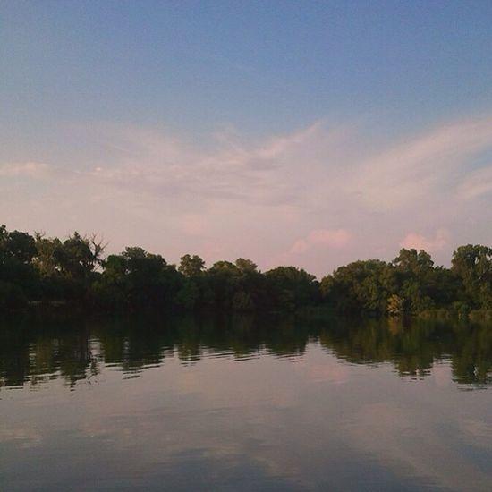 Sunset at White Rock Lake. White Rock Lake Sunset