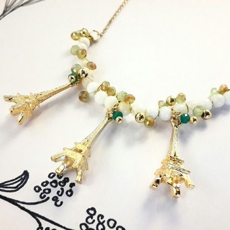 오늘 새로운 만든 디자인. Handmade Jewellery Design Twig Love 璦薇兒Doris