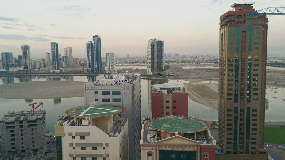 Photography Themes Sharjah Uae Sharjah Building Building Exterior Beautiful Visual Trends SS16 - Urbanity Helipads Top Views Top View Morning Background From My Window Architecture Urban Urbanphotography Urban Lifestyle Urban Architecture Urbanity