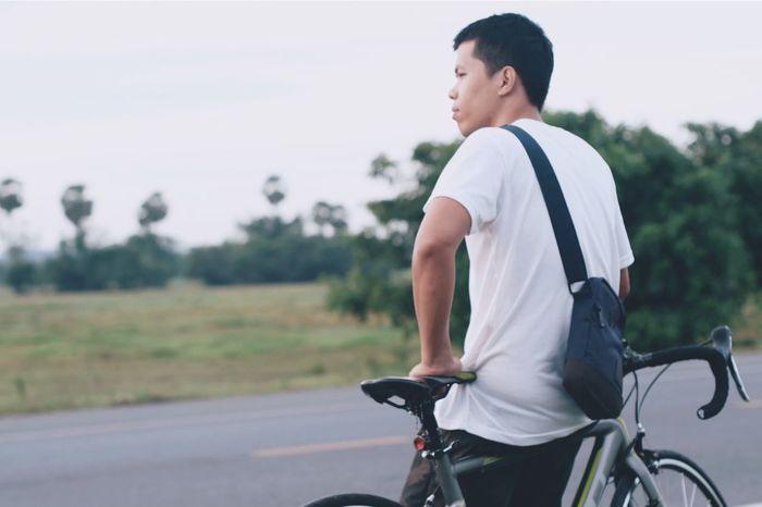 Relaxing Roadbike Nakornsithammarat Fujifilm Super Takumar 55mm 1.8 Photoshoot Candid Photography GoodTimes Candid