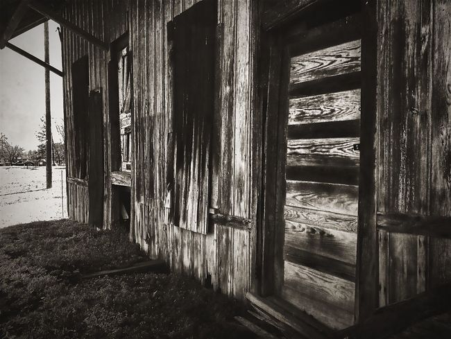 Outdoors Walking Around Spring Decay Forgotten Door To No Place Weathered Shed Textures And Surfaces Taking Photos Taken For Granted Blackandwhite Decrepit