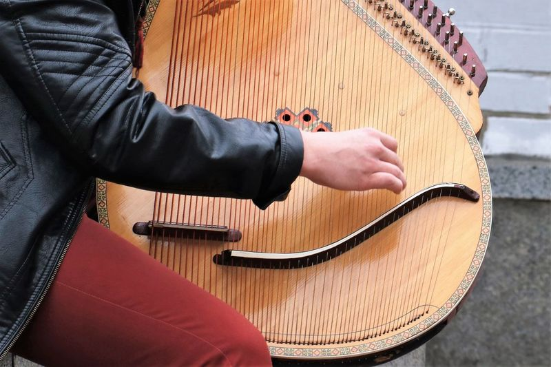 https://www.youtube.com/watch?v=ELHN6peiaO8 Close-up Day Folk Instrument Folklore Human Body Part Human Hand Music Musical Instrument Musical Instrument String Musician One Person People Playing Real People Street Photo