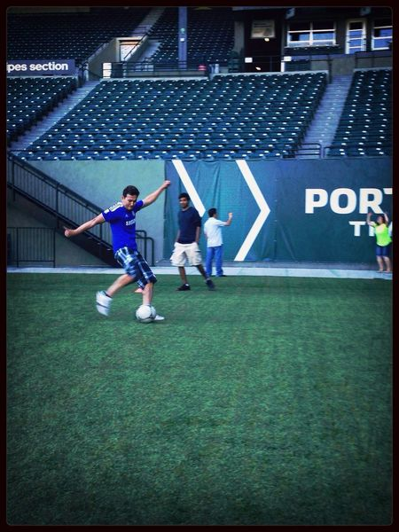 Kicking Some Ball @jeld-wen Field  Goal Portlandtimbers