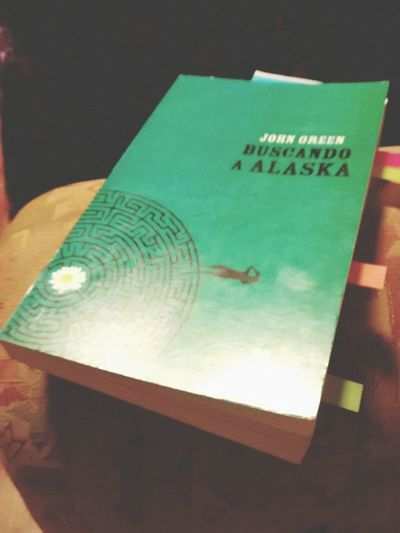 Nunce me entenderas, esa es la idea Libros Jhon Gren BuscandoAAlaska