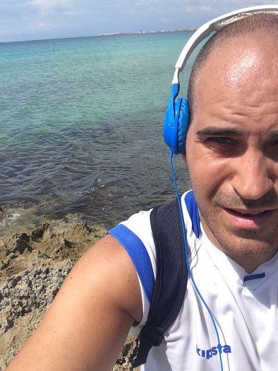 Athleisure Thats Me! After a long run in Music company around Gallipoli Baia Verde Punta Della Suina Running Wellness Sport Last Summer Picoftheday EyeEm Best Shots