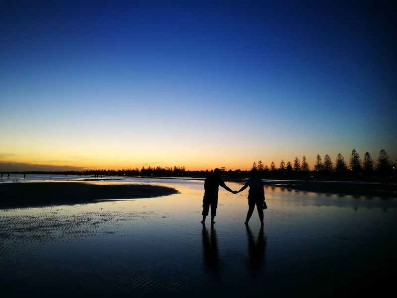 Lake Water Sunset Two People Day Outdoors Togetherness People Nature Sky Second Acts