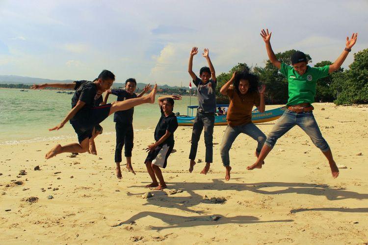 Pangandaran Beach Euforia Jump Shot