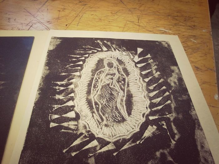 Our Lady of Guadalupe oil print