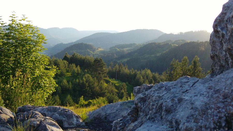 Kremnicke Vrchy Slovakia Woods Mountains Rocks Light Sky Blue Sky The Week On EyeEm