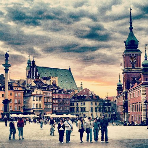 Architecture Sunset Nature Sky Castle Photography Poland Europe Polska Medieval Warsaw Warszawa  Warsaw Old Town