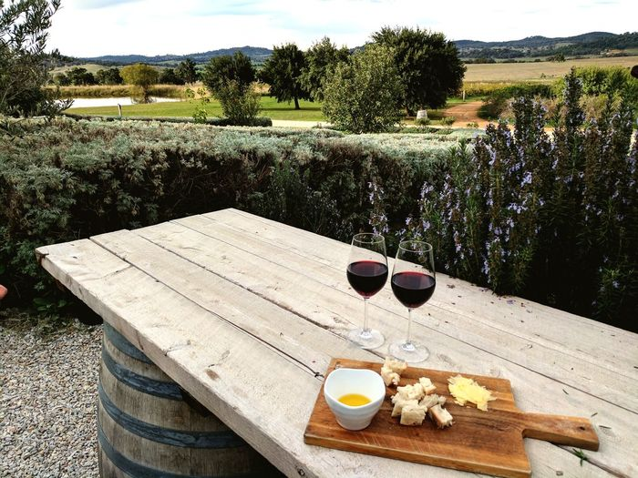 Wine Moments Cheese Winery View Table No People Day Outdoors Drink Nature Food Sky