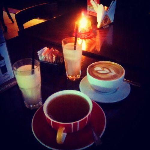Rica once con mi amorcito Instachile Instaphoto Instafood Lovedinner instalove masterchef coffee