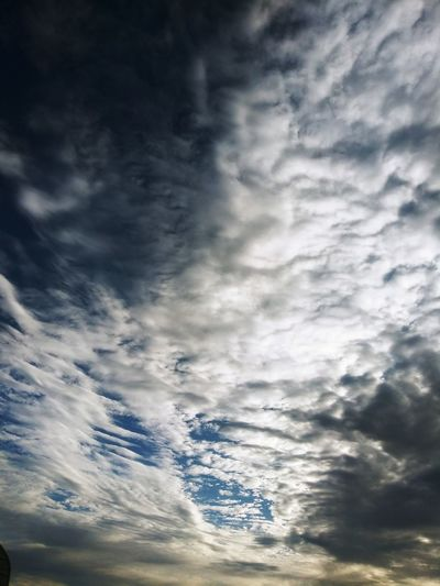 morning clouds,
