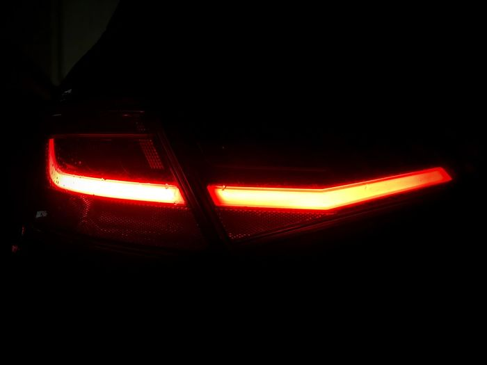 In the dark, don't forget to turn on the lights Audi ♡ S Line A3 Audipower Audi Illuminated Glowing Night Neon Indoors  Close-up first eyeem photo
