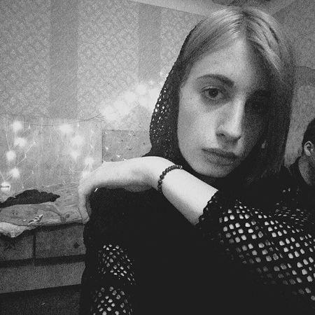 Black & White Psychopath Sad Pretty Black Psycho