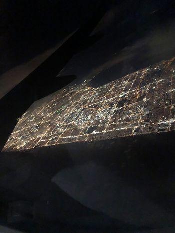 Ciudad desde el cielo Night Architecture Nature Illuminated Sky No People Outdoors