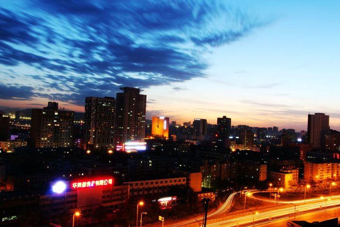 乌鲁木齐 红山夜景
