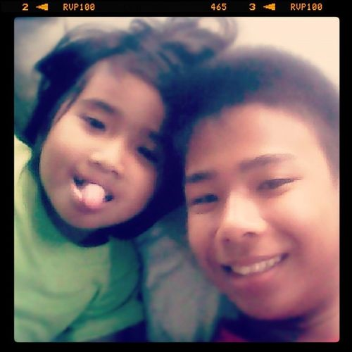 Serlfie with my niece Rubelyn :D