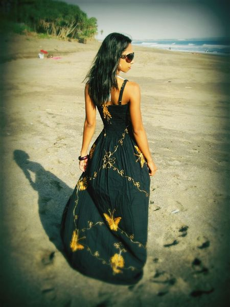My Journey,.. Me and My Shadow Fashion Photography Fashionaddict My Style ❤ Mycollection Maxidress Longdress Black Butterfly Papillon Mariposa Slim Beach Creative Light And Shadow