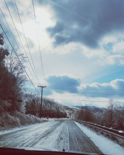 Last Winter the roads got a little Icy